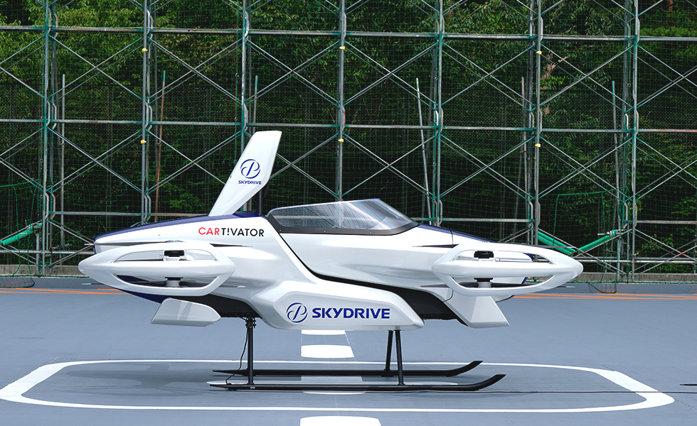 SkyDrive SD-03 side view.