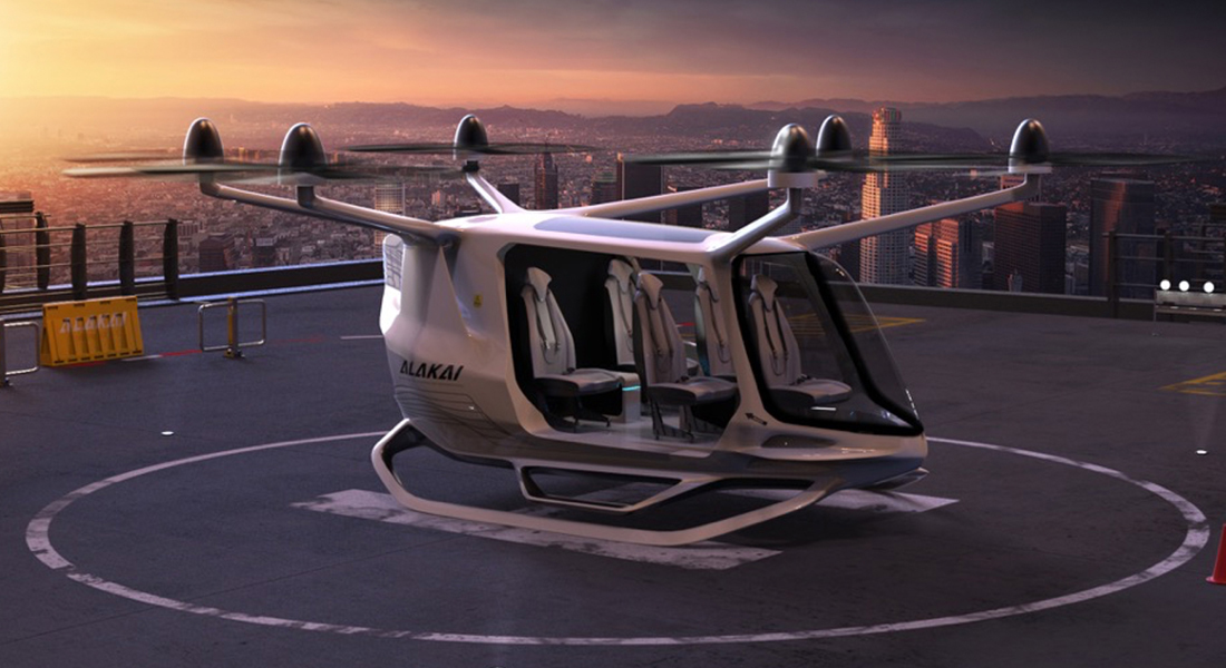 Alaka'i Building Second-Gen H2 eVTOL