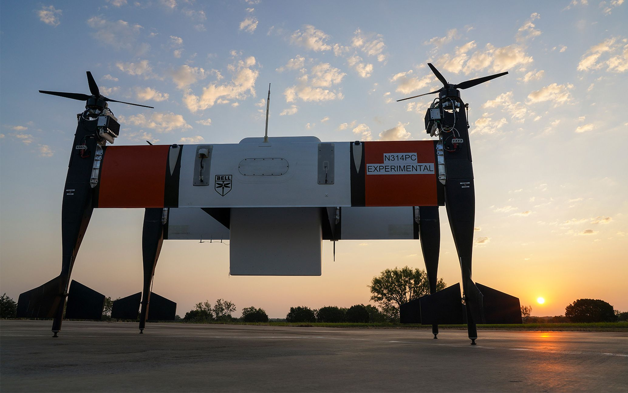 Bell Advances eVTOL Testing