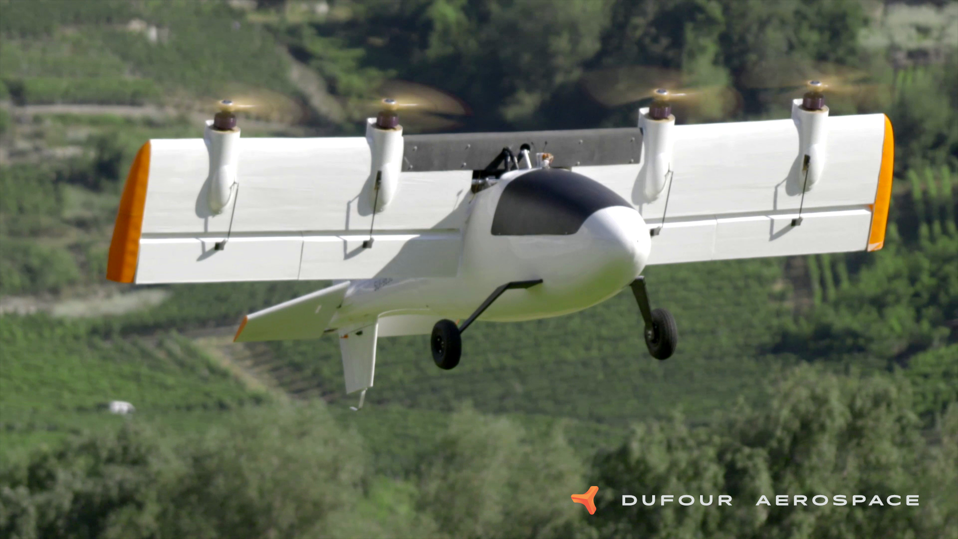 Dufour Completes Subscale Flight Testing