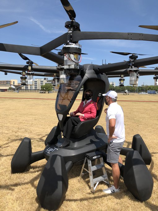 Air Force Leadership Gets eVTOL Demonstration