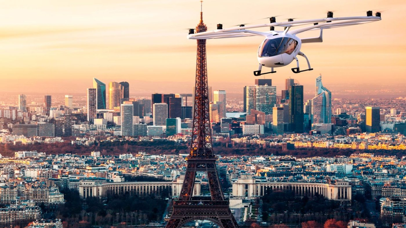 Choose Paris for eVTOL