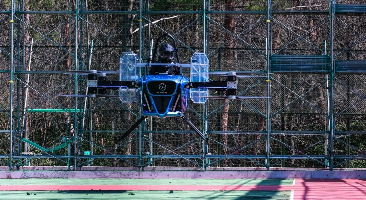 SkyDrive Completes Japan's First Manned eVTOL Test Flights