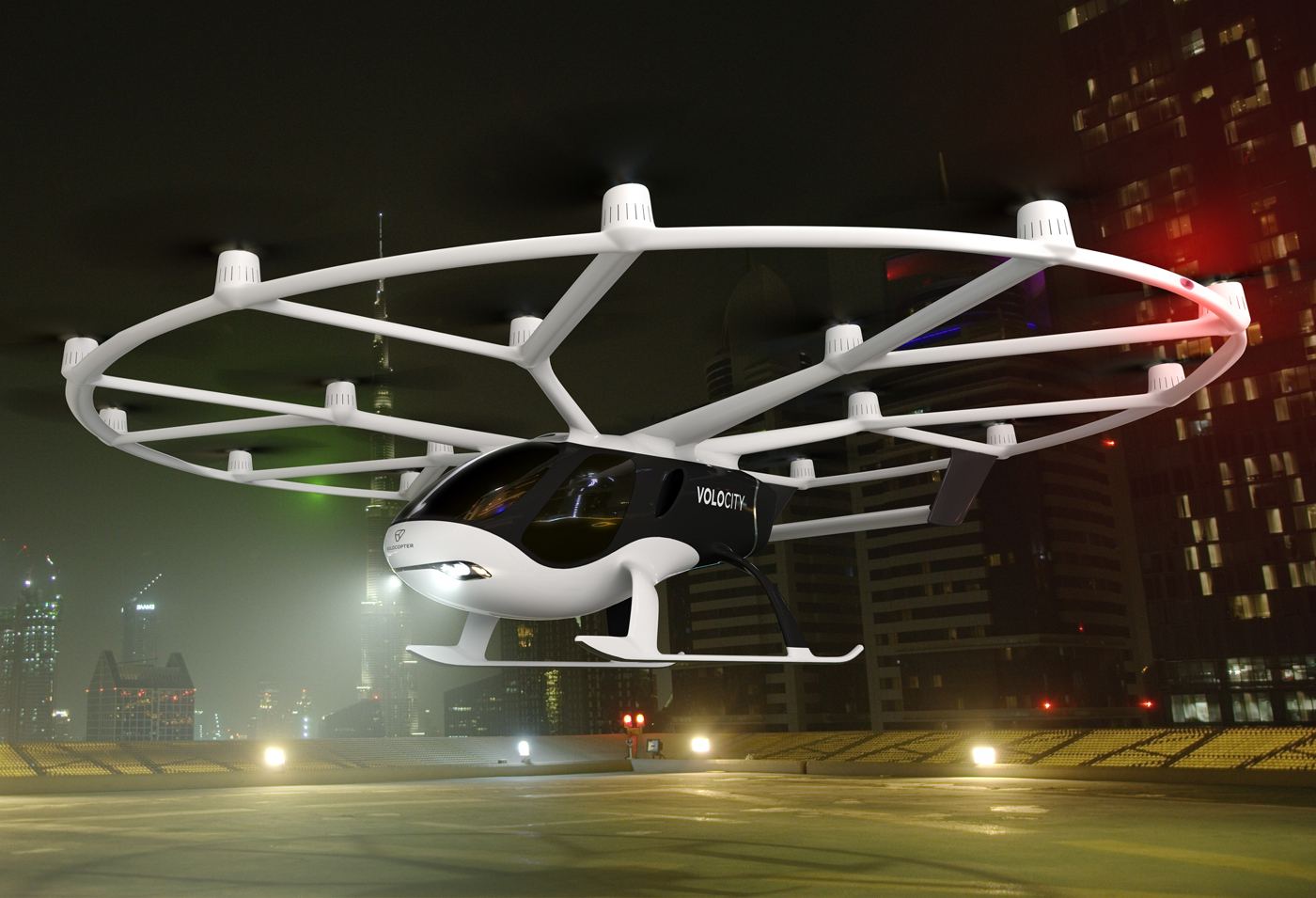 FAA Accepts Volocopter Certification Approach
