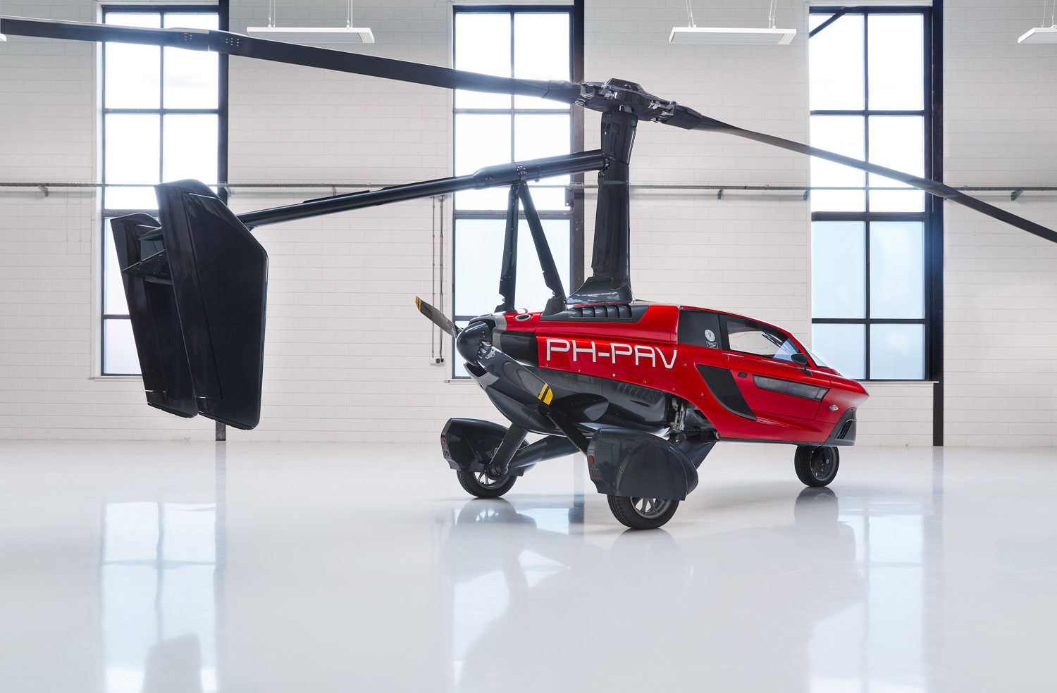 PAL-V to Develop Electric Flying Car